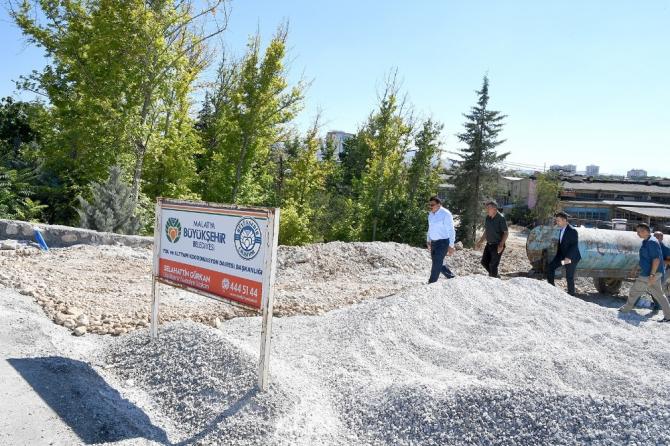 Malatya Büyükşehir, Anayurt caddesini Özsan'a bağlıyor