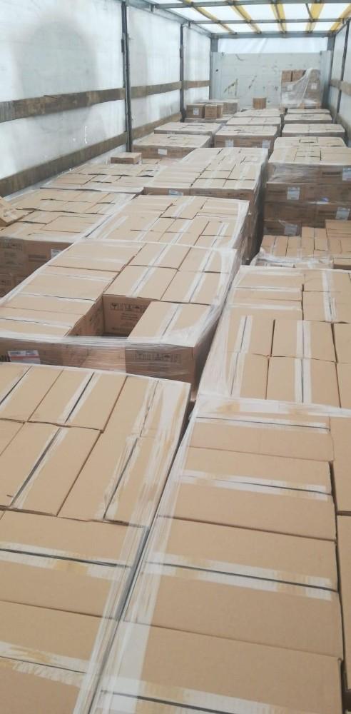Dorsesinde 530 bin liralık market malzemesi bulunan tırı çalan hırsız yakalandı