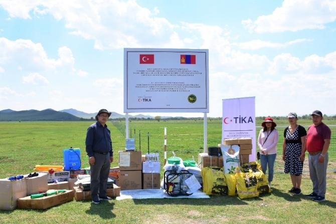 TİKA'dan Moğolistan'da hayvan yemi bitkisi yetiştiriciliğine destek