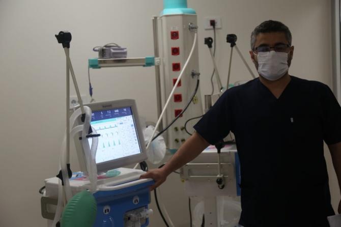 Yerli solunum cihazları yoğun bakım hastalarına nefes oldu