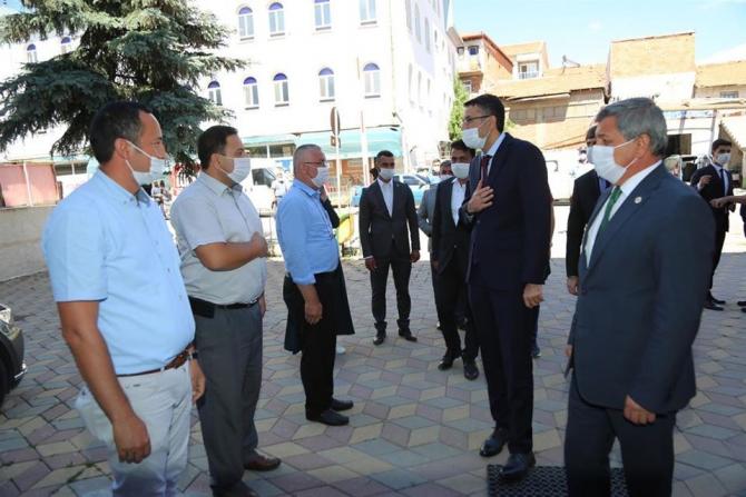 Vali Ali Çelik'ten Altıntaş ziyareti