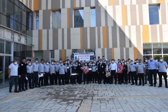 Van'da Özel Güvenlik Günü ve Haftası kutlandı