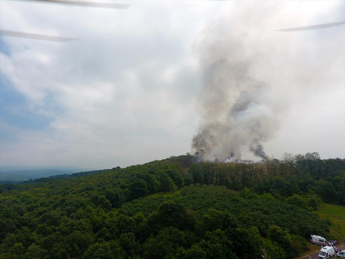 Sakarya'da havai fişek fabrikasında patlama: 50 yaralı