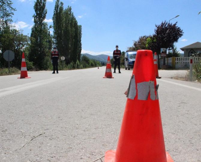4 bin nüfuslu beldede Korona karantinası devam ediyor