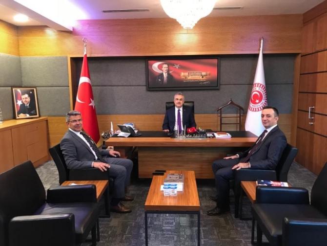 Köşk Belediye Başkanı Güler, Ankara'dan müjdelerle döndü