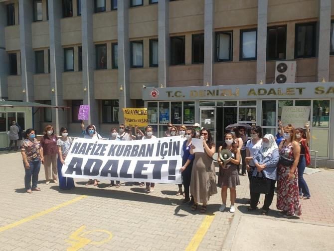 Kadın örgütleri Hafize Kurban için bir araya geldi