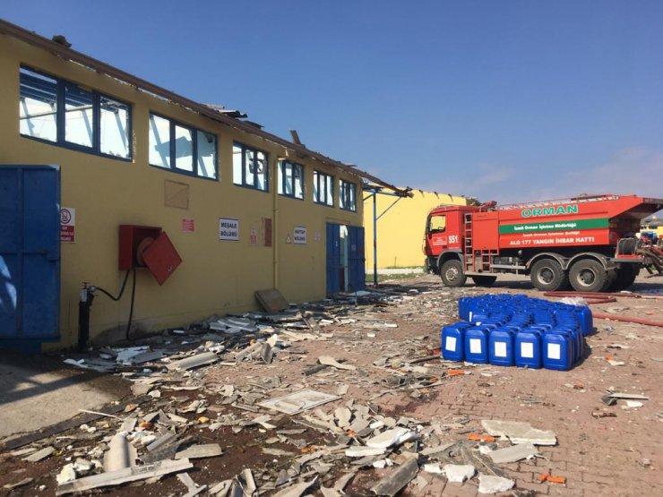 Hendek'te havai fişek fabrikasında patlama: 4 ölü, 103 yaralı (17)