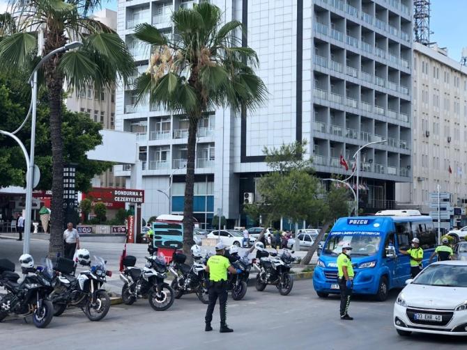 Mersin'de ilk 6 ayda 38 bin 339 toplu taşıma aracı kontrol edildi
