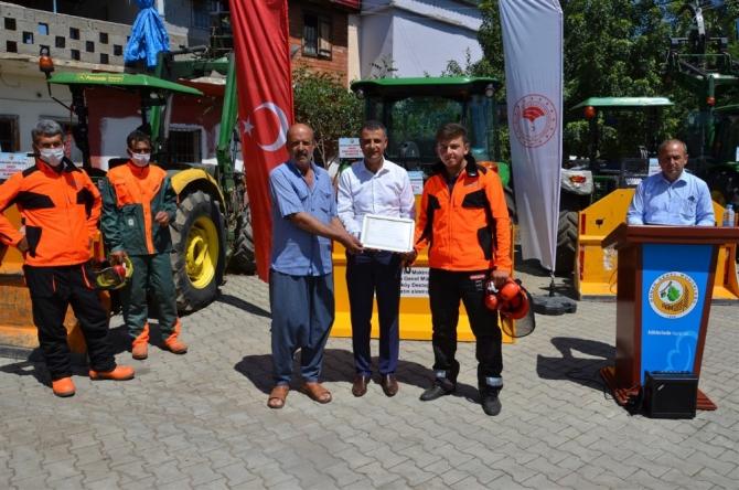 Orman Bölge Müdürlüğünden orman köylüsüne destek
