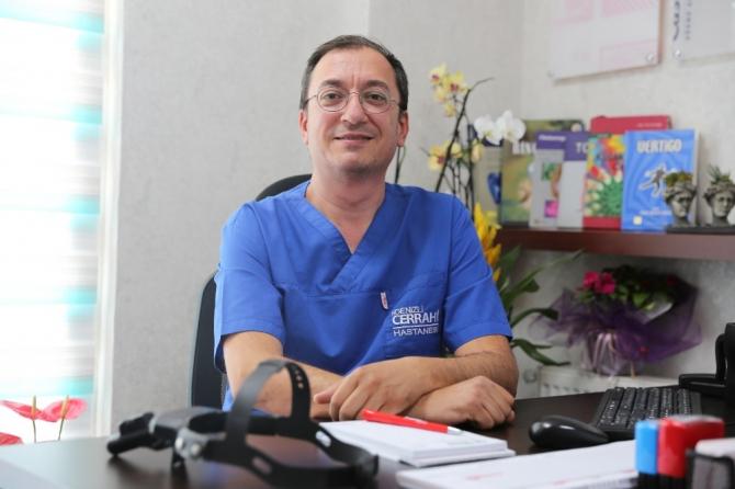 """Dr. Kamil Aykal; """"Vertigo kadınlarda daha çok görülüyor"""""""
