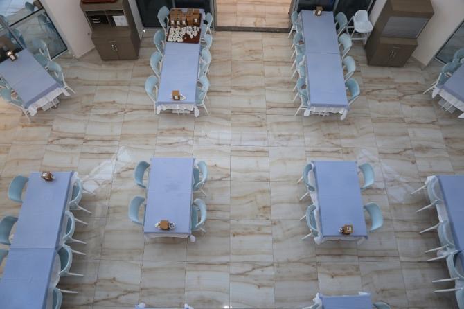 Atakum Belediyesi tesislerinde QR kodlu menü ile temas azaldı