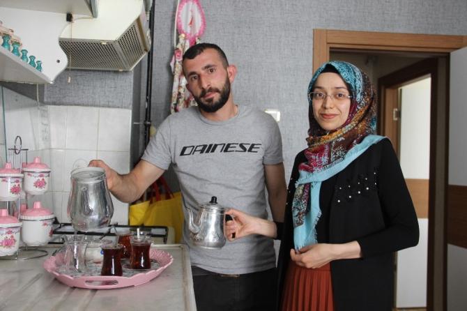 Kaçarak evlenen çiftin yuvasını 40 kadından oluşan yardım grubu kurdu