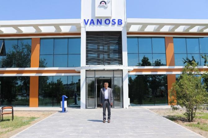 Van OSB idari hizmet binası yenileniyor