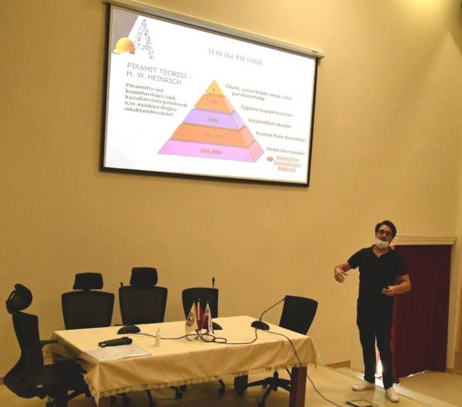 Altınova Belediye personellerine İSG eğitimi