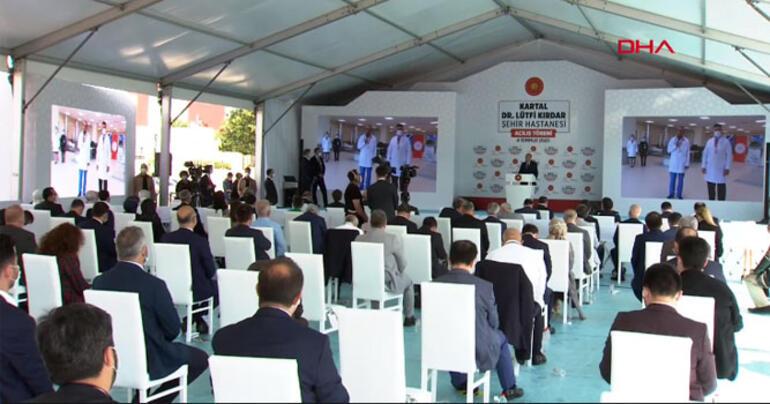 Erdoğan, Kartal Dr. Lütfi Kırdar Şehir Hastanesi Açılış Töreni'nde konuştu
