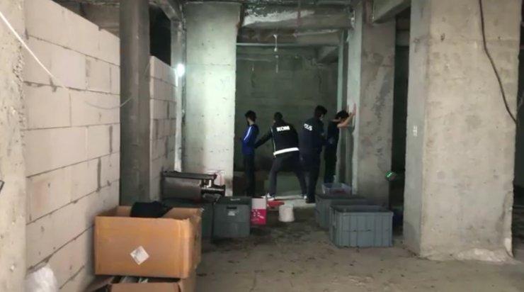 16 ilde kaçak tütün operasyonu: 135 gözaltı