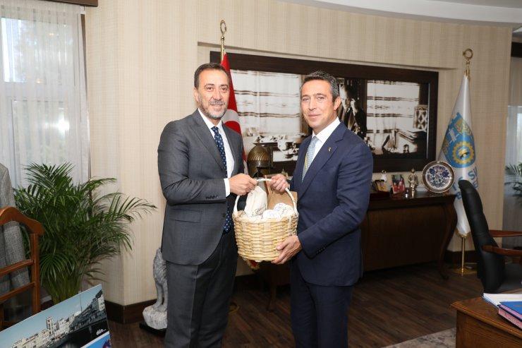 Ali Koç, Silivri Belediye Başkanı Yılmaz'ı ziyaret etti