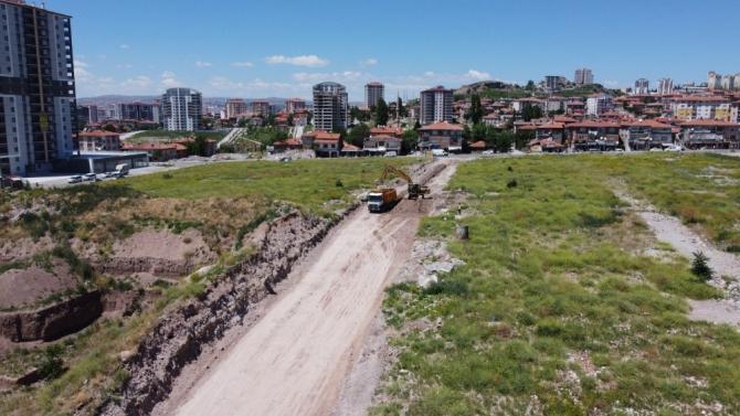 Altındağ'a yeni yollar