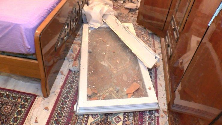 Ataşehir'de ilginç olay: Kamyonet yatak odasına girdi