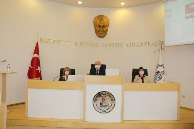 Burhaniye'de belediye faaliyet raporu onaylandı