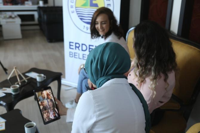 Erdemli Belediyesinden 'kahve sohbetleri' ile terapi