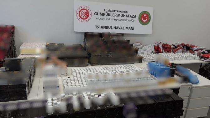 İstanbul Havalima'nın cinsel içerikli ürün ele geçirildi