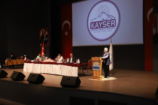 Başkan Büyükkılıç, Kayseri Serbest Bölgesi Olağan Mali Genel Kurulu'nda çağrıda bulundu
