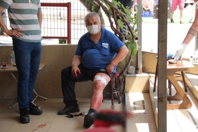 Çay ocağında tartıştığı vatandaşı silahla ayağından vurdu
