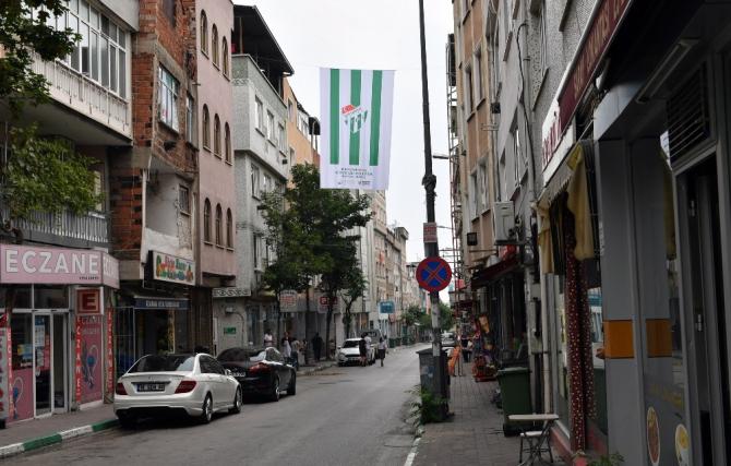 Osmangazi'de her yer yeşil beyaz