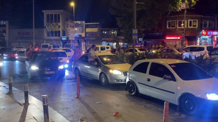 İstanbul'da yine silahlı, meşaleli, sosyal mesafesiz asker uğurlaması