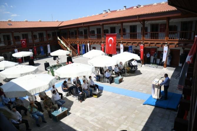 Vezirköprü Taşhan otel ve restoran olarak hizmete açıldı