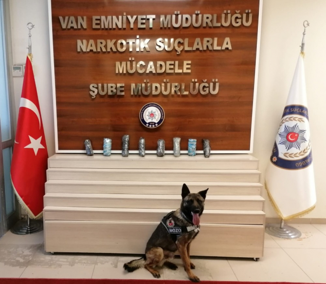 Van'da uyuşturucu operasyonu: 1 tutuklama