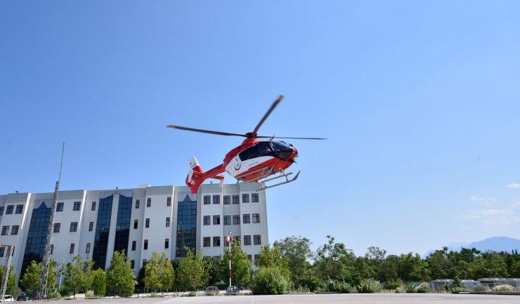 'Demir kanat' en çok kalp krizi vakaları ve bebekler için havalandı