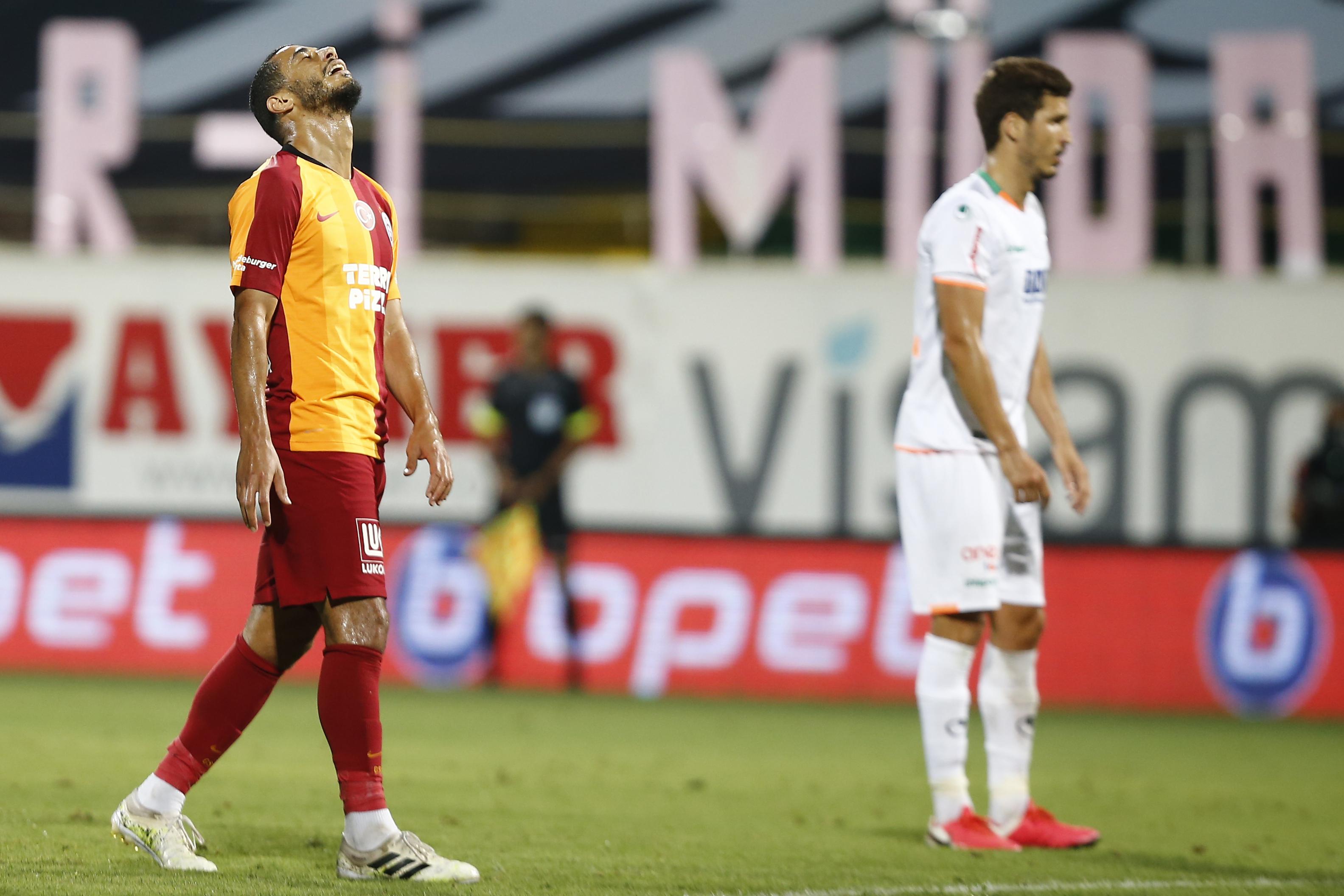 Galatasaray, Alanya deplasmanında ilk üçe tutunamadı!