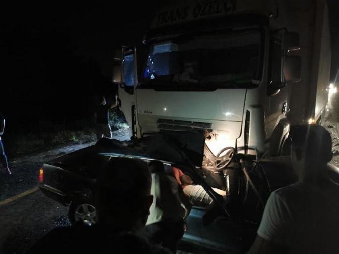 Kahramankazan'da feci trafik kazası: 2 ölü 1 ağır yaralı