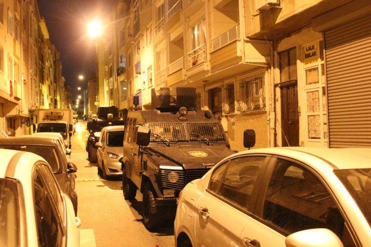 İstanbul'da terör operasyonu, çok sayıda gözaltı