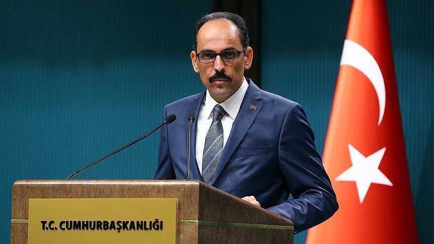 Cumhurbaşkanlığı Sözcüsü Kalın'dan sosyal medya ve Ayasofya açıklaması