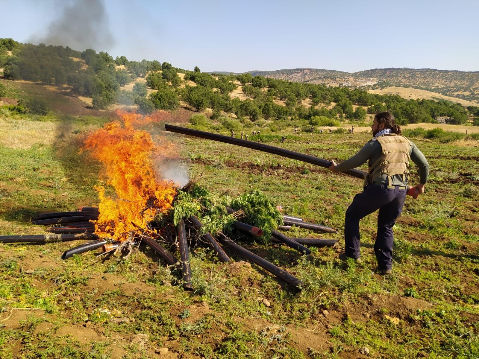 Diyarbakır'da zehir tacirlerine büyük darbe: Milyonlarca ele geçirildi