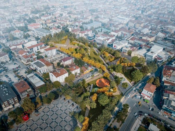 Düzce'de yapımına başlanılan Millet Bahçesi 300 günde bitecek