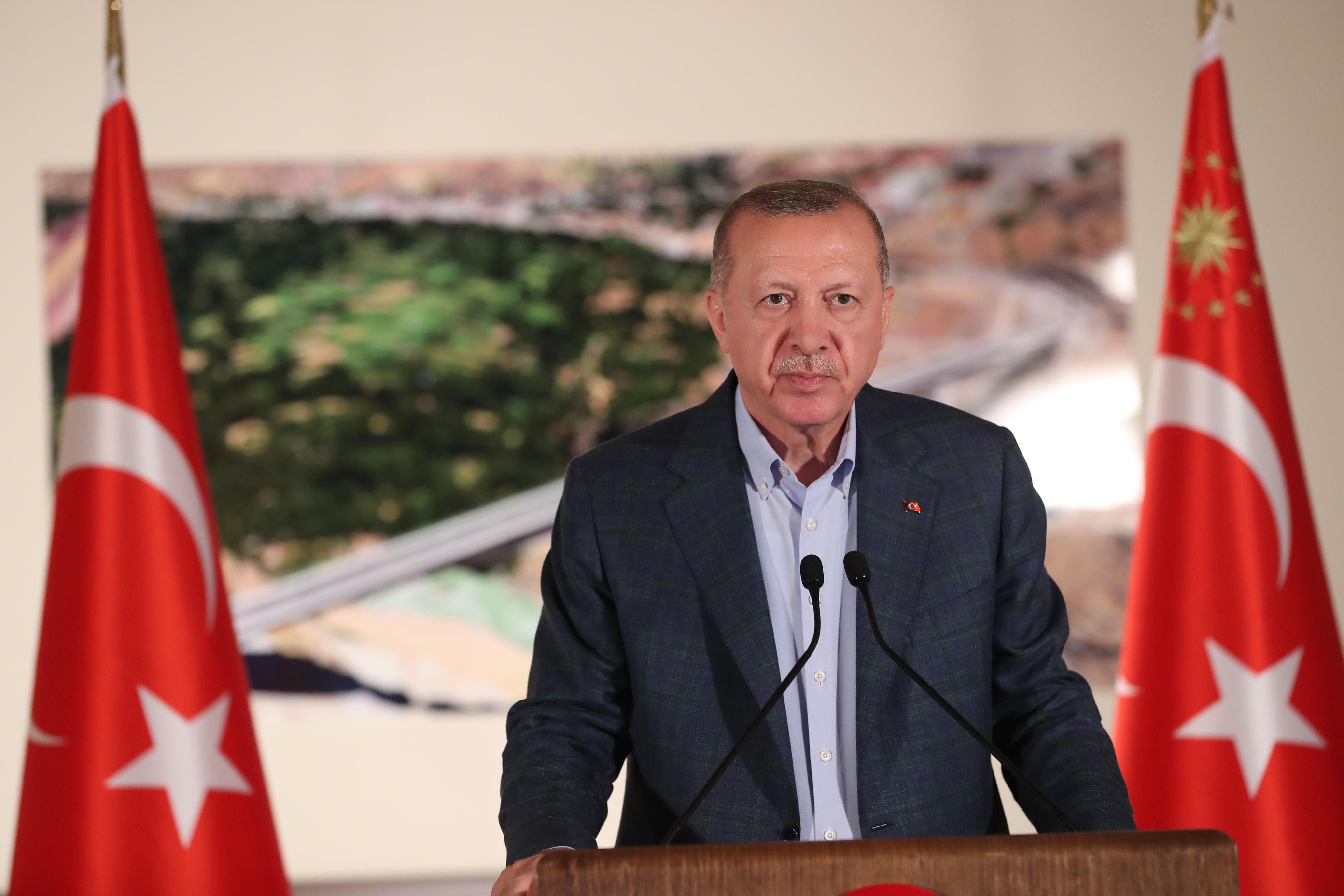 Erdoğan'dan Ayasofya açıklaması: Milletimizin sesine kulak vererek bu kararı aldık