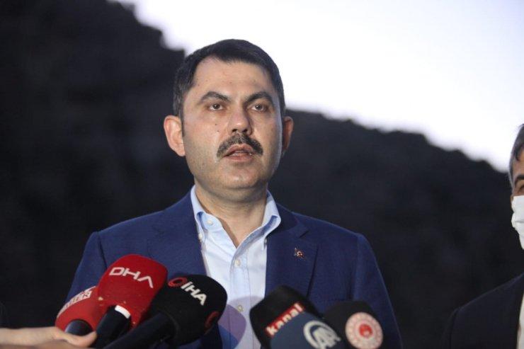 Bakan Kurum: Kalecik'e eski Ankara evlerini yapacağız (5)
