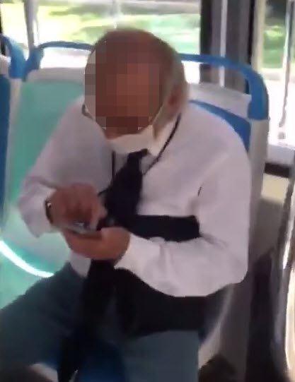 Emekli hakime fotoğraflı taciz iddiası