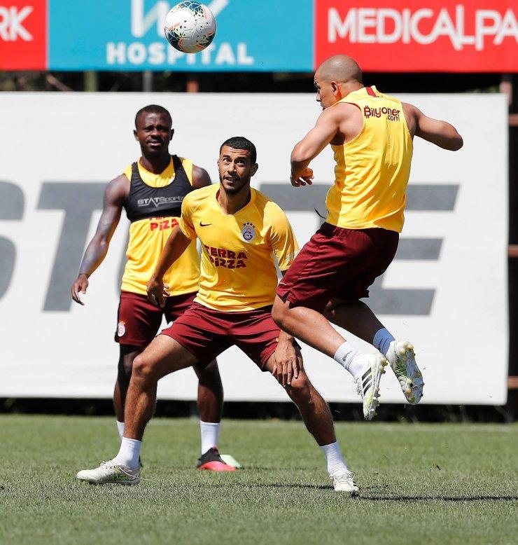 Galatasaray'da Falcao ve Lemina, Ankara'da yok