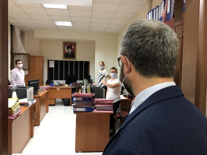 Bursa'da çapraz korona virüs denetimleri devam ediyor