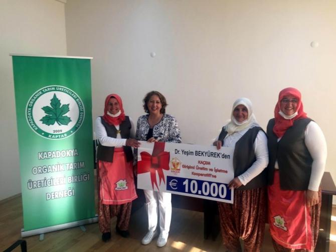 Kadın çiftçilerle yapılan 10 yıllık organik tarım çalışması ödül aldı