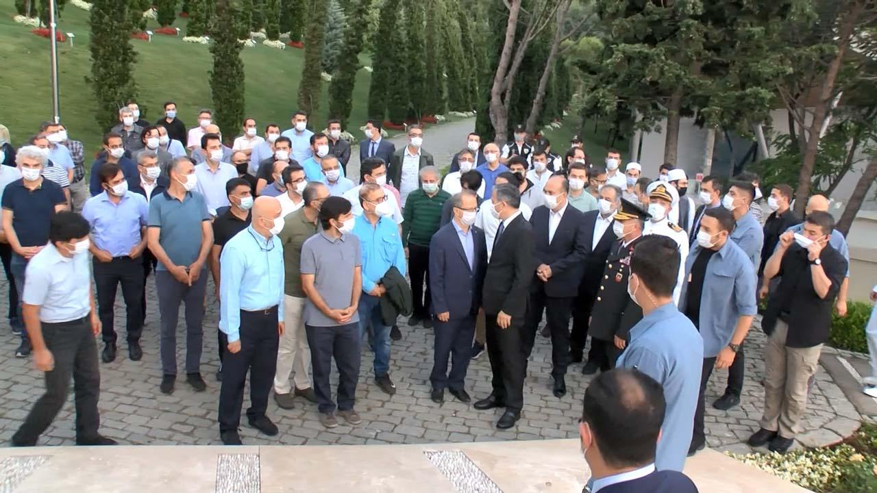 Vali Yerlikaya 15 Temmuz Şehitler Anıtına ziyarette bulundu!