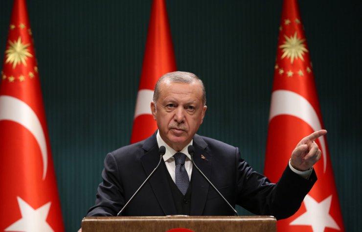 Erdoğan:Biz aslına rücu ediyoruz, bir yanlışı biz düzeltiyoruz