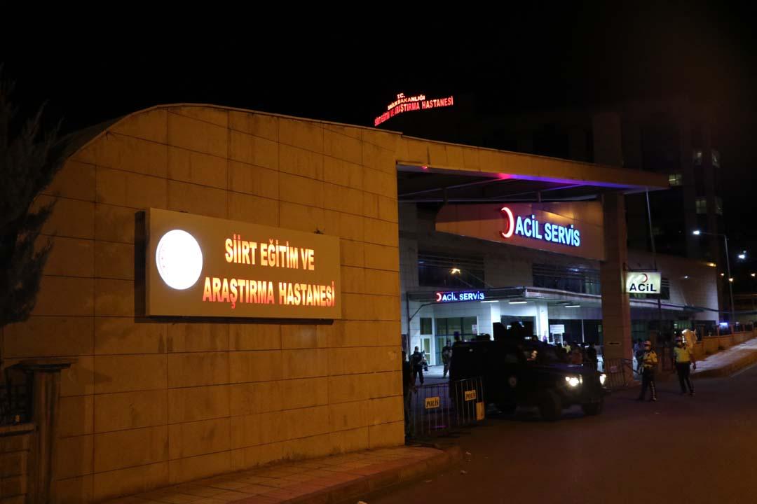 Siirt'ten acı haber:Yaralanan 2 Özel Harekat polisi şehit oldu