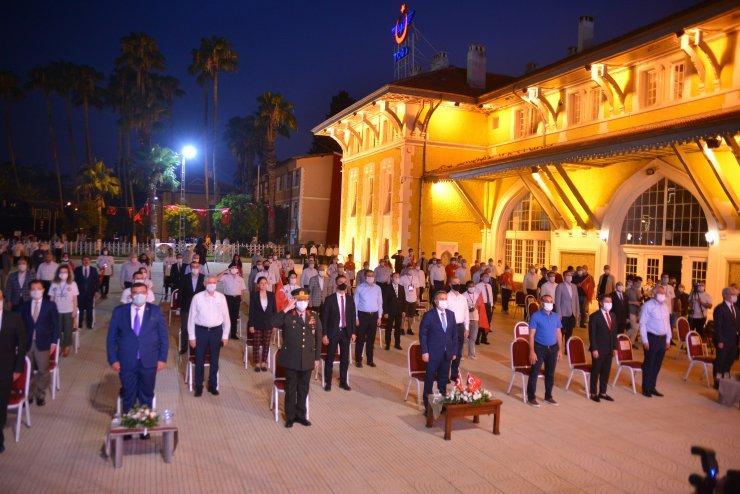 Adana'da, 15 Temmuz şehitleri ve demokrasi için nöbet