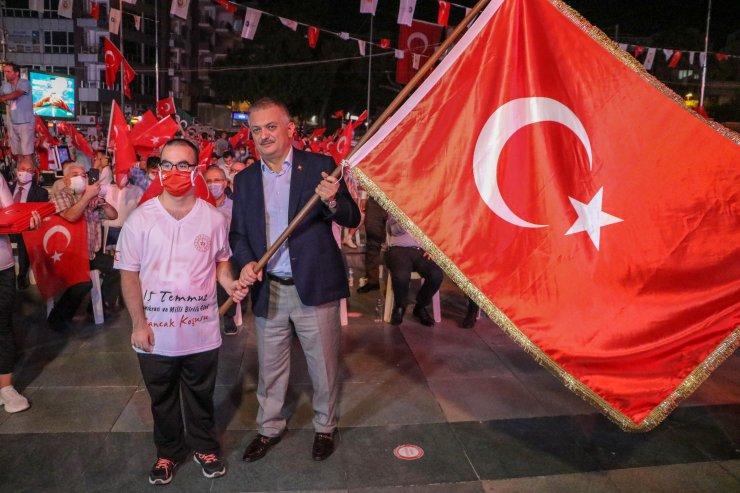 Antalya'da '15 Temmuz' anması